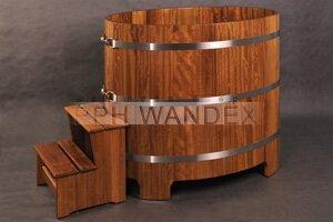 balia z drewna kambala