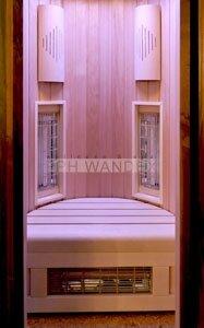 sauna infrared kabina ir